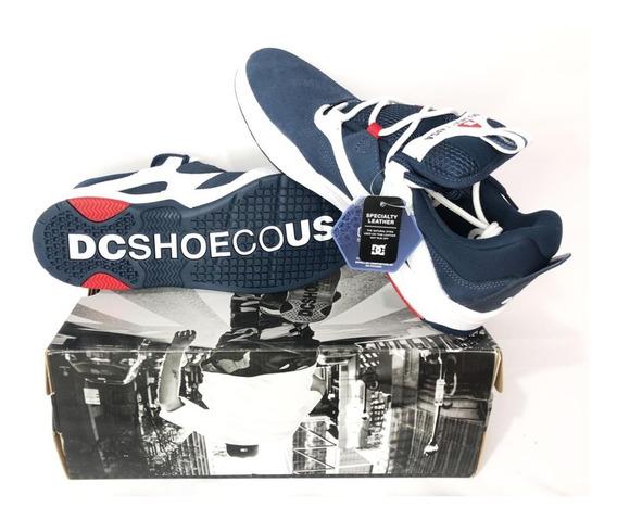 Tênis Dc Shoes Kalis S Imp Navy And White Original