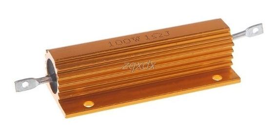 Resistor De Alta Potência 10 Ohms 100w (05 Peças)