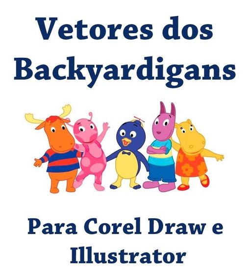 Vetores Dos Backyardigans Para Corel Draw 4