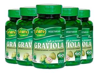 Graviola - 5x 60 Cápsulas - Unilife