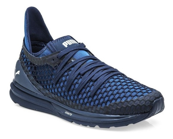 Zapatillas Puma Ignite Limitless Netfit - Azul