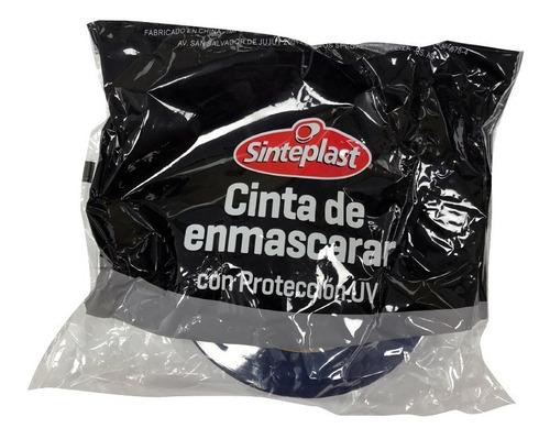 Cinta De Enmascarar Azul Filtro Uv Sinteplast | 18 Mm