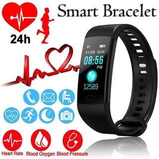Relógio Inteligente Pulseira Smartband Y5 + Pulseira Extra