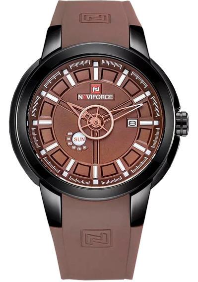 Relógio Naviforce Original Importado Silicone Prova D