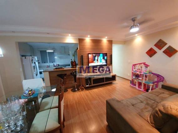Apartamento Com 3 Dormitórios À Venda, 89 M² Por R$ 639.000 - Parque Prado - Campinas/sp - Ap3817