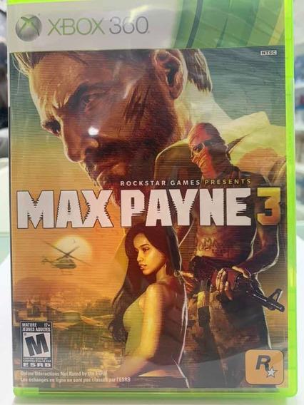 Max Payne 3 Novo Xbox 360