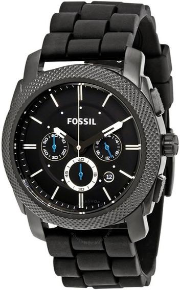 Reloj Fossil Machine Cronógrafio Fs4487 - 100% Original