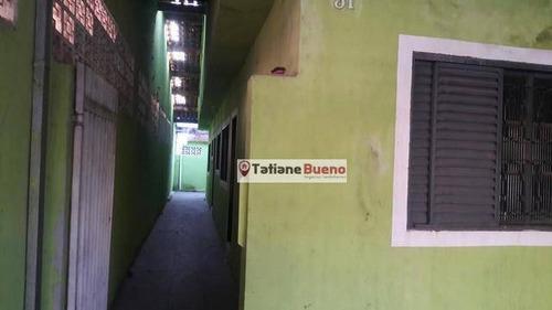 Casa Com 2 Dormitórios À Venda, 100 M² Por R$ 235.000 - Residencial União - São José Dos Campos/sp - Ca2467