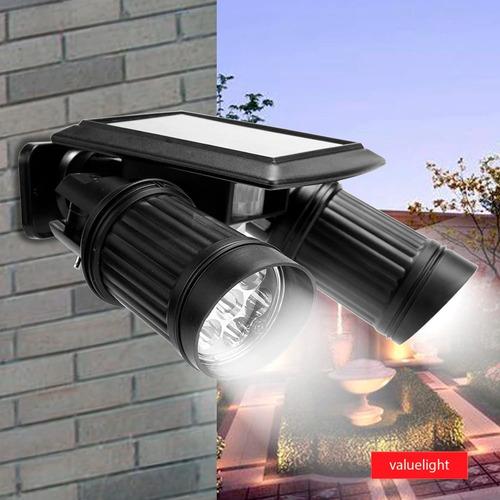 Reflector Foco Lampara Led Solar Sensor Movimiento  /dsl-322