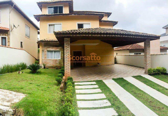 Casa De Condomínio Com 4 Dorms, Parque Delfim Verde, Itapecerica Da Serra - R$ 1.1 Mi, Cod: 791 - V791