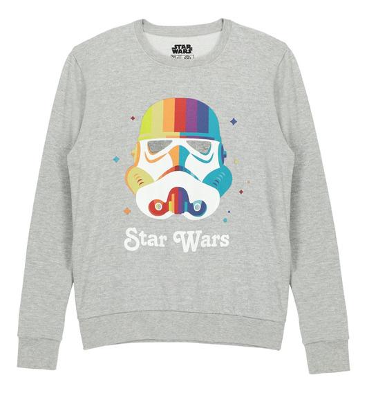 Sudadera Licencia Star Wars De Hombre C&a