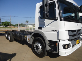 M.benz Atego 2426-2013-truck-chassi-talisma Caminhoes