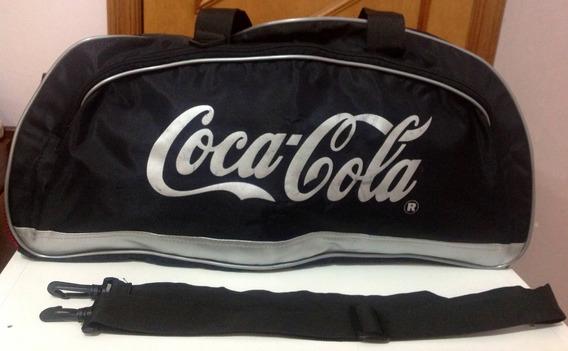 Bolsa Coca Cola Para Viagem Ou Academia Grande 58 X 30 X 23