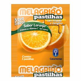 Melagrião Vitamina C Laranja 5 Pastilhas