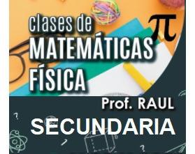 Imagen 1 de 1 de Clases De  Matemáticas. Física. Secundaria