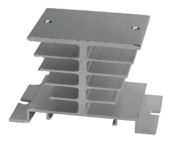 Dissipador De Calor Aluminio Para Relé Estado Sólido