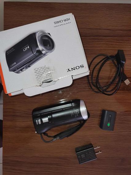 Filmadora Sony Hdr Cx455