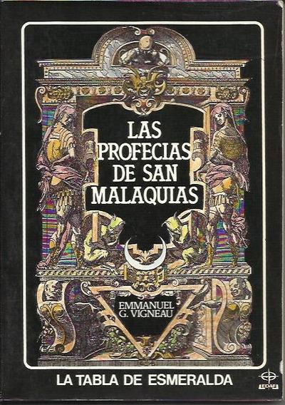 Las Profecias De San Malaquias - Vigneau