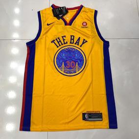 3985418dd9 Regata Golden State Warriors Amarela - Camisetas Masculino no ...