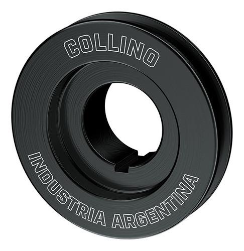 Imagen 1 de 3 de Polea Cigueñal Fiat 1 Uno Motor Tipo Aluminio 80mm Collino