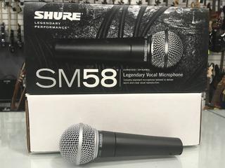 Microfono Shure Sm 58 Original Nortvision Tucuman