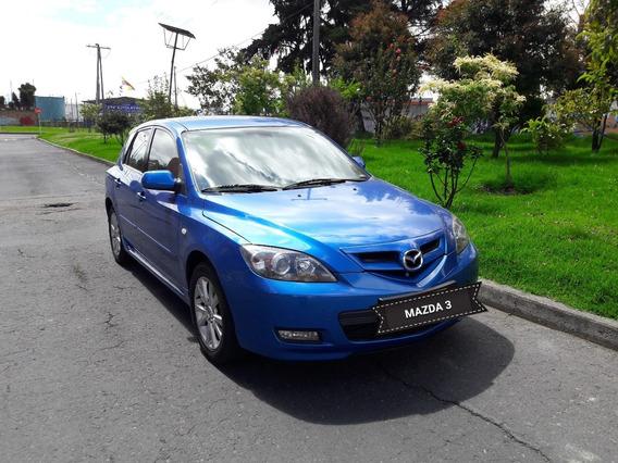 Mazda 3 Motor 2.0 2008 Azul 5 Puertas
