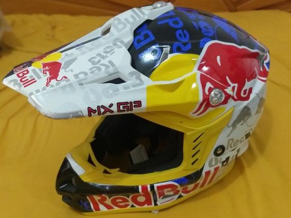 Capacete Cross Red Bull