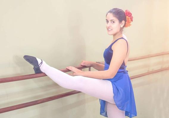 Combo Malla De Danza+pollerin