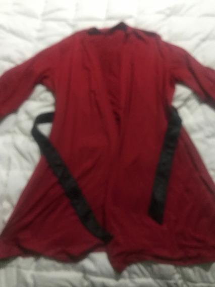 Bata Para Dama Color Rojo Talla Xl/xxl