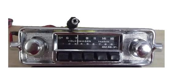 Rádio Volkswagen Fusca 61 62 63 64 65 66 67 68 69 70 71 72