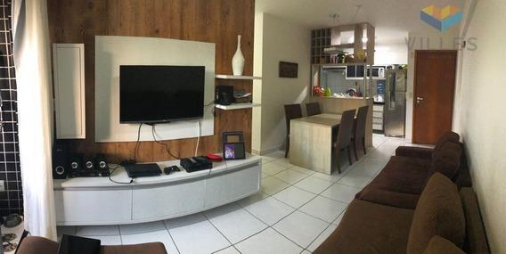Apartamento Residencial À Venda, Cruz Das Almas, Maceió. - Ap0432