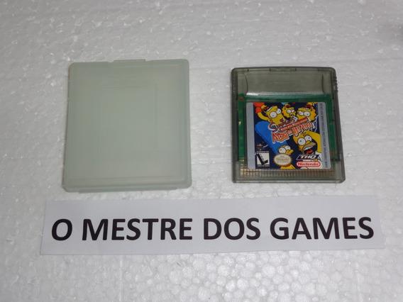 Os Simpsons Original Para Game Boy Color Confira