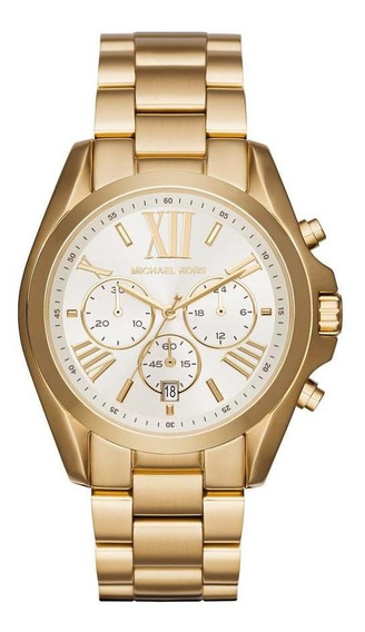 Relógio Michael Kors Feminino Bradshaw - Mk6266/4bn