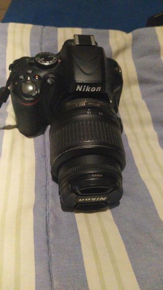 Câmera Fotográfica Nikon D5100 Original Usada + Bolsa
