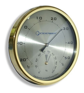 Termo Higrometro Analógico Bimetalico Incoterm 7527