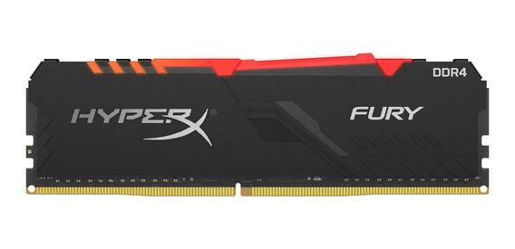 Memoria Pc Gamer Ddr4 Hyperx Fury 8gb 2666mhz Rgb Mexx