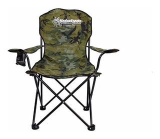 Cadeira Reforçada Dobrável Marine Sports Diretor Porta Copos