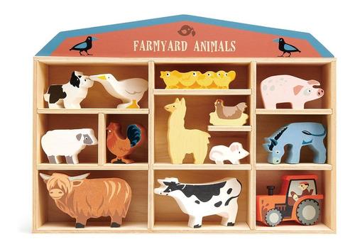 Imagen 1 de 4 de Estante Organizador De Madera Tenders Leaf Toys + Figuras