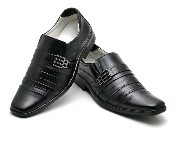 Sapato Social Masculino Couro Legítimo Franca Super Oferta