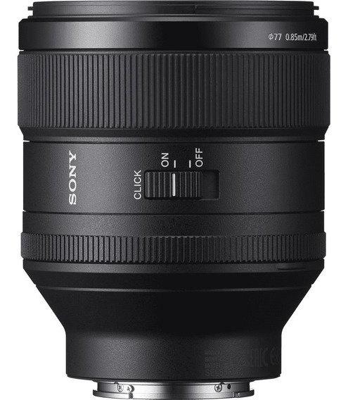 Lente Sony Sel Fe 85mm F/1.4 Gm
