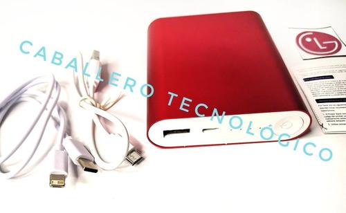 Powerbank Pila Portátil Crg027 Homologada LG 7500pmah Real