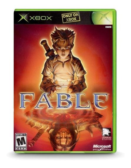 Fable Limited Edition Bonus Dvd (xbox) Mídia Física
