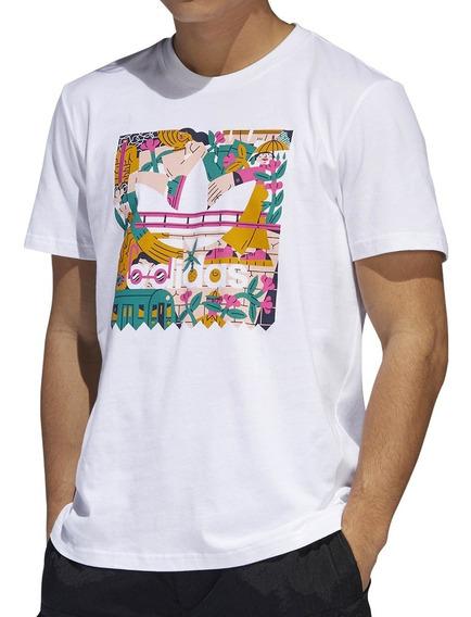 Remera adidas Originals Moda Edgewood Tee Hombre Mf