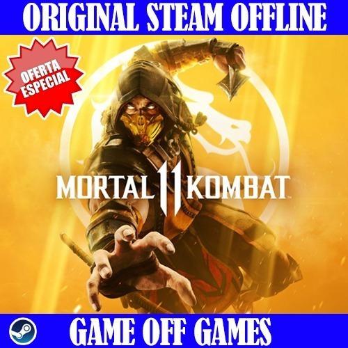 Mortal Kombat 11 Pc Offline Steam Original