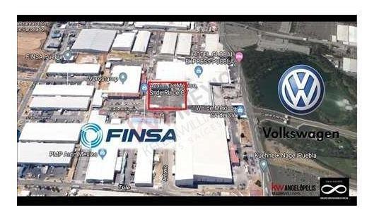 Cedis En Puebla Dentro De Parque Finsa Cerca Volkswagen