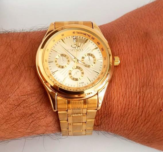 Relógio Masculino Ótima Qualidade Resistente