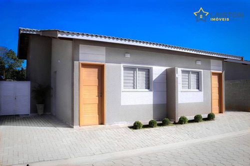 Casas Residenciais Térreas À Venda Em Condomínio Fechado, Atibaia Sp - Residencial Figueiras - Ca1660