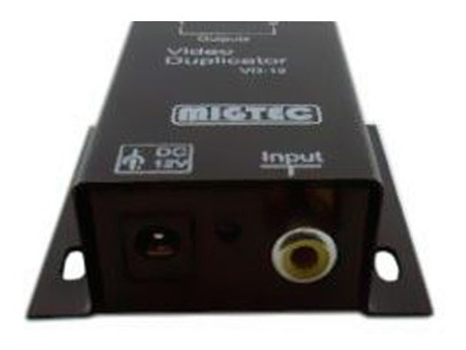 Distribuidor Video 1x2 Conector Rca Splitter Migtec -vd12rca