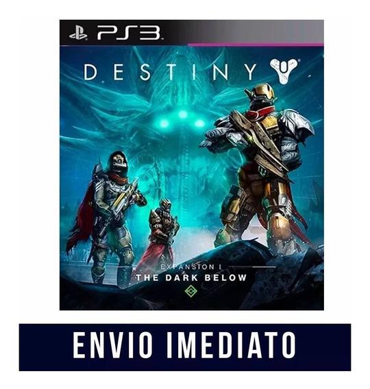 Destiny Dlc A Escuridão Subterrânea Ps3 Psn - Midia Digital