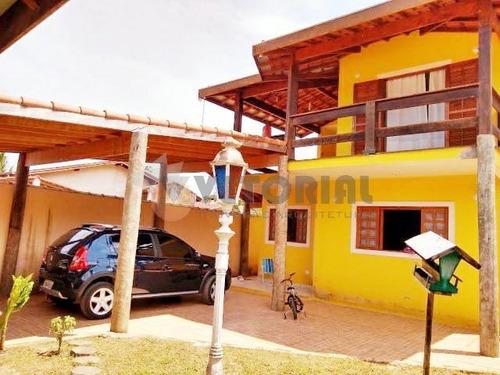 Sobrado Com 3 Dormitórios À Venda Por R$ 520.000,00 - Massaguaçu - Caraguatatuba/sp - So0326